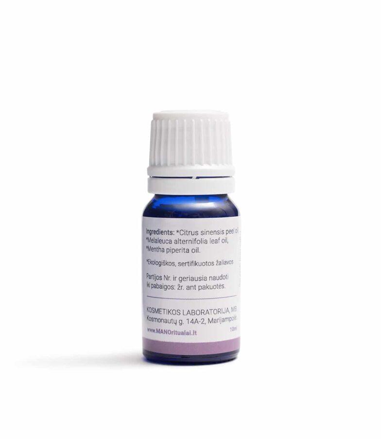MANO aromaterapija Eterinių aliejų mišinys Imuniteto šydas