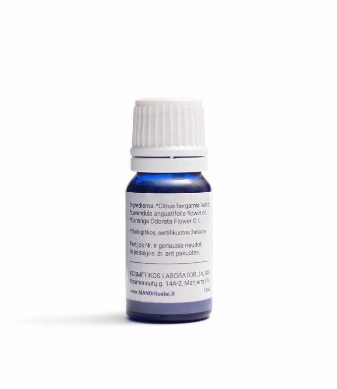 MANO aromaterapija Eterinių aliejų mišinys Ramybės minutė